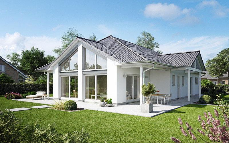 bungalow 135 fertigh user baugrundst cke. Black Bedroom Furniture Sets. Home Design Ideas