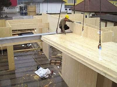 Massive Holz Wandsystem CLT