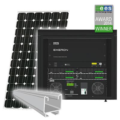 Fotovoltaik Insellösung