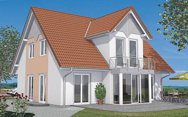 Das Einfamilienhaus Vialla 160 bietet individuelle Wohnwünsche auf ca. 143 qm.