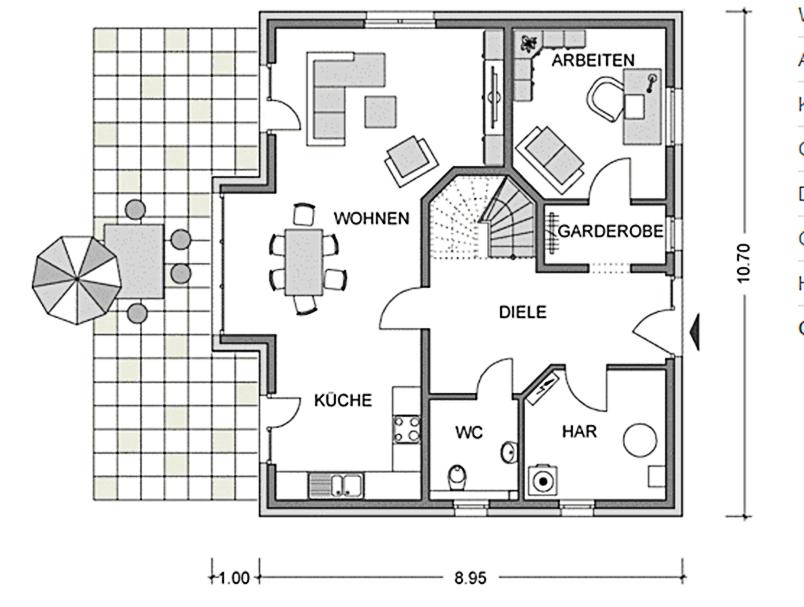 vialla 160 satteldachhaus fertigh user baugrundst cke. Black Bedroom Furniture Sets. Home Design Ideas