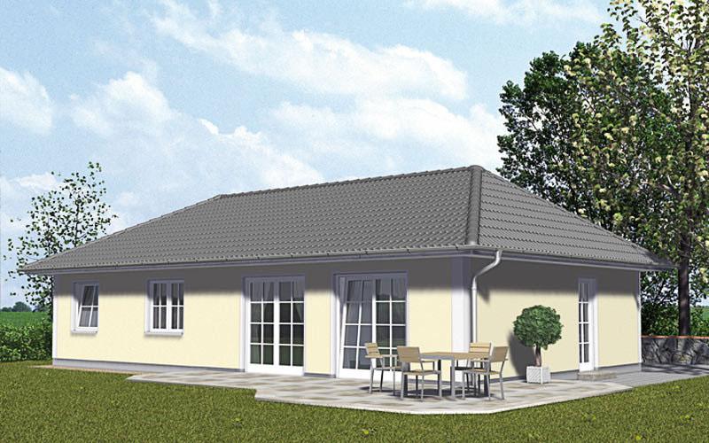 Der Bugalow 98 mit intelligenter Raumaufteilung auf 98 m².