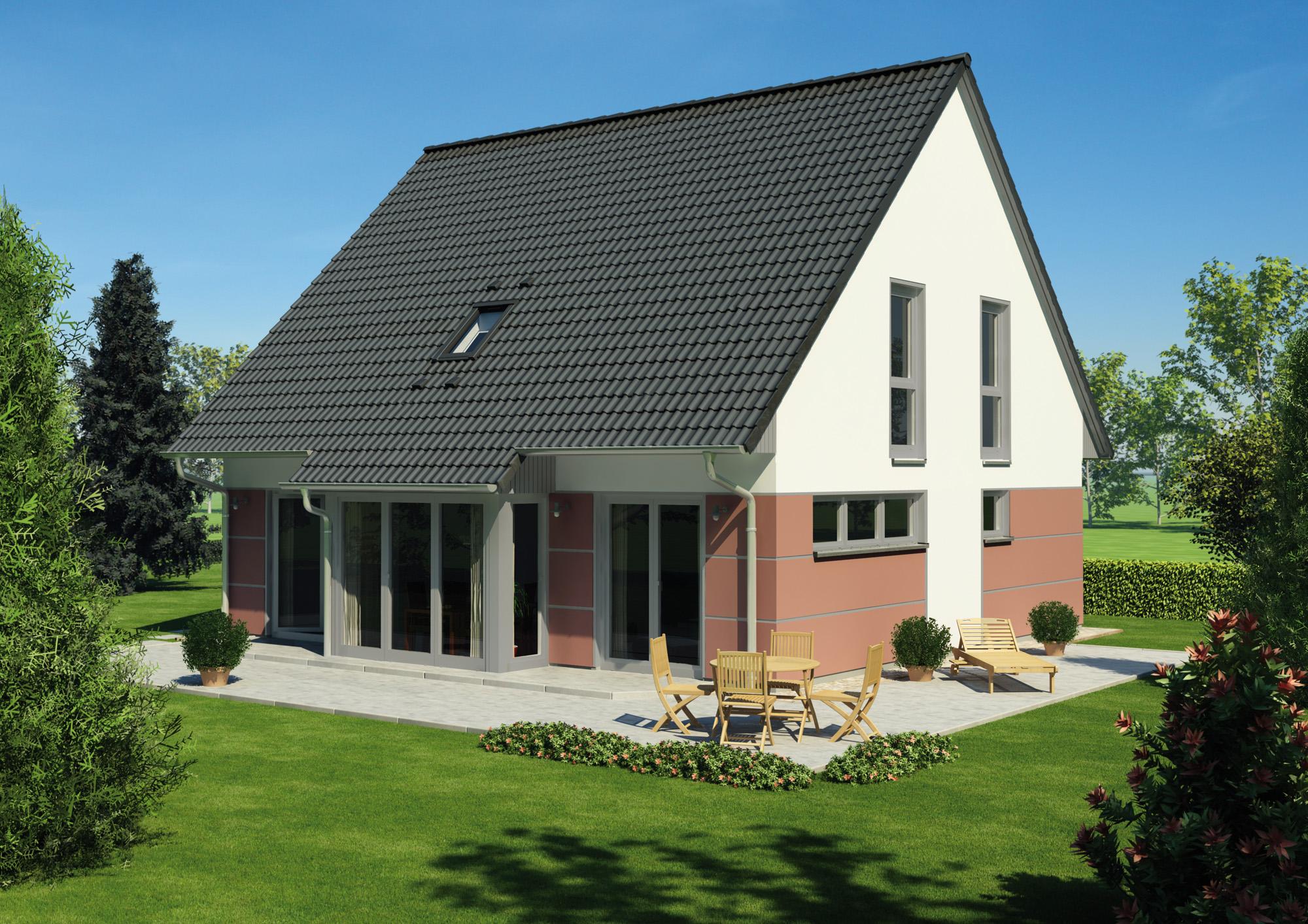 Das Einfamilienhaus Vialla 161 bietet individuelle Wohnwünsche auf ca. 142 m².